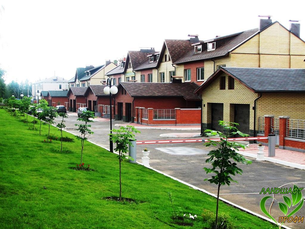 """Ландшафтный дизайн в Йошкар-Оле - Жилой комплекс """"Дубрава"""""""