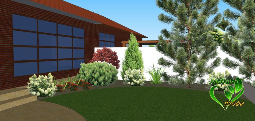 3D-визуализация придомовой территории